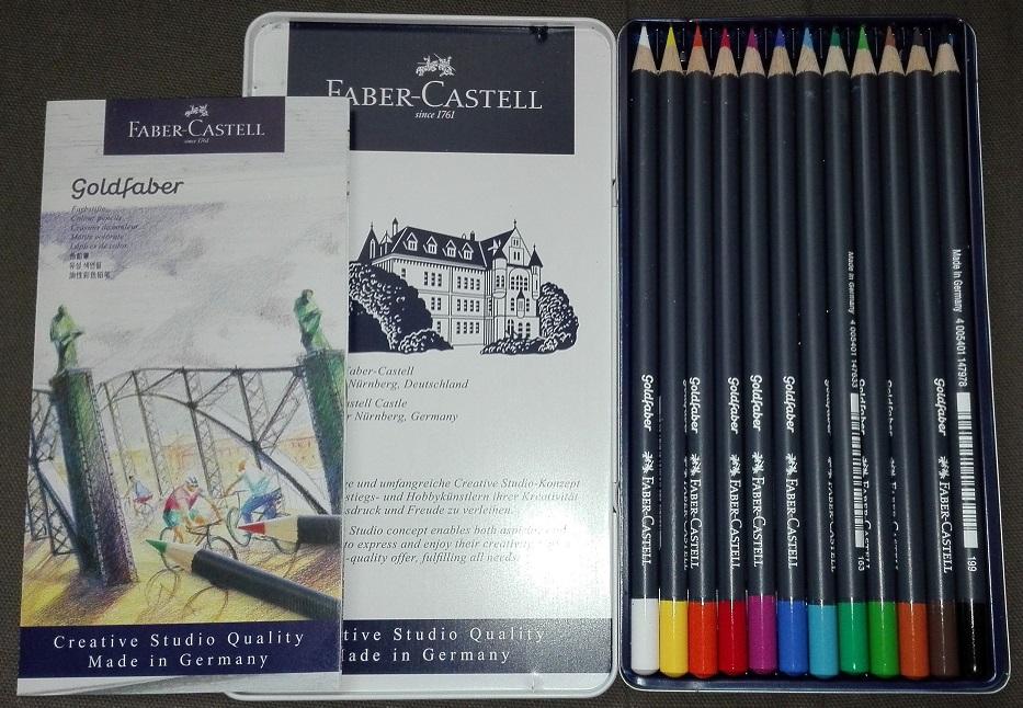 Lápiz de color Faber-Castell solo color crayón diamante